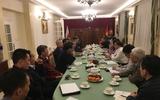 Đại sứ quán họp bàn với tổ chức Cộng đồng người Việt tháo gỡ khó khăn kinh doanh tại Ba Lan