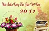 Thông báo: Gặp gỡ giao lưu nhân Ngày Nhà Giáo Việt Nam 20 - 11