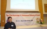 Hội thảo lần thứ I dành cho sinh viên, nghiên cứu sinh Việt Nam đang học tập, nghiên cứu tại Ba Lan