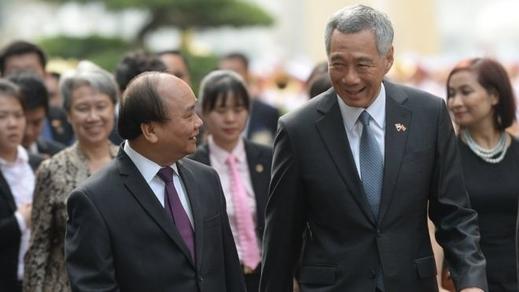45 năm quan hệ Singapore và Việt Nam