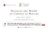Thông báo chương trình Lễ hội Văn hóa - Ẩm thực các Đại sứ quán (Embassy Festival) lần thứ nhất tại thủ đô Vác-sa-va