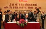 Lễ ký kết biên bản ghi nhớ hợp tác giữa điện ảnh Việt Nam – Ba Lan