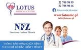 Trung tâm y tế Lotus: Thông báo khám chữa bệnh theo chế độ bảo hiểm y tế NFZ