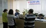 Thông báo của Trung tâm Y tế Lotus.