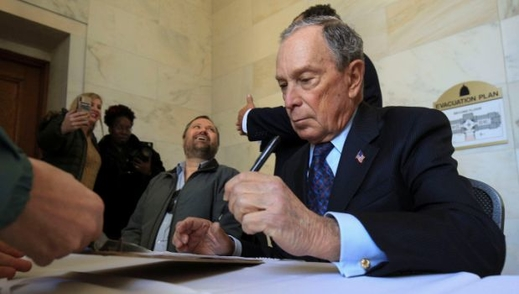 Quan điểm thân Trung Quốc ngáng đường vào Nhà Trắng của Bloomberg?
