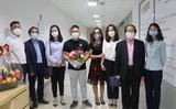 Thăm một số bệnh nhân Covid-19 đã khỏi bệnh và hết hạn cách ly.