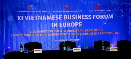 Thông báo kết quả tổ chức diễn đàn doanh nghiệp Việt Kiều chấu Âu lần thứ XI