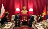 Đại sứ Vũ Đăng Dũng làm việc với Phòng Thương mại Ba Lan – châu Á
