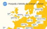 Giá đi MyTaxi từ sân bay về trung tâm một số thành phố ở châu Âu