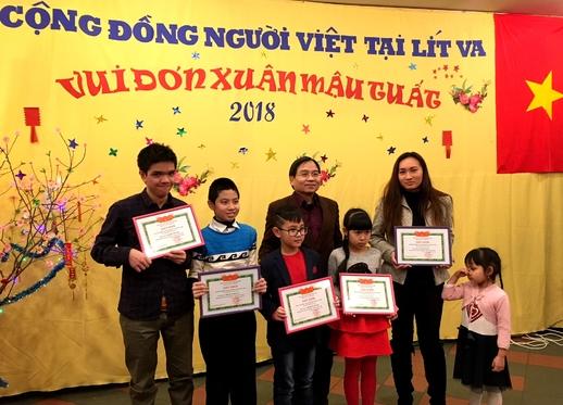 Đại sứ quán Việt Nam và cộng đồng người Việt tại Lít-va tổ chức đón Tết  Mậu Tuất