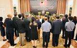 Lễ viếng nguyên Tổng bí thư Lê Khả Phiêu tại Ba Lan.
