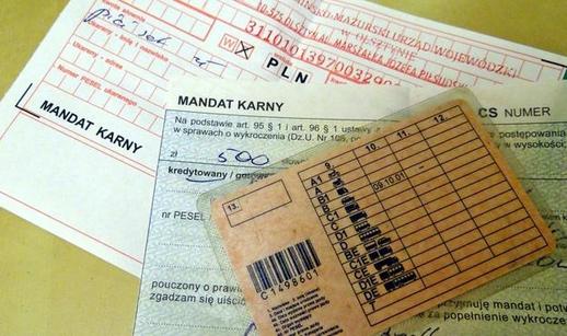 Ba Lan: Bảng giá phạt một số vi phạm giao thông năm 2018