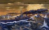 31/05/1916: Trận Jutland, trận hải chiến lớn nhất Thế chiến I, bắt đầu