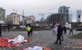 Nông dân Ba Lan phản đối ở Vác-sa-va