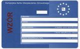 Thẻ Bảo hiểm sức khỏe châu Âu  EKUZ do Ba Lan cấp