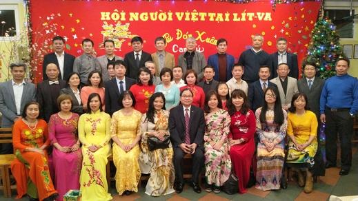 Cộng đồng người Việt Nam tại Lít-va gặp mặt mừng xuân Canh Tý, 2020.