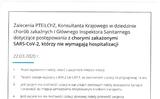 Chỉ dẫn của Hiệp hội Ba Lan các nhà Miễn dịch học và Bác sỹ các bệnh lây (PTEiLChZ), Cố vấn Quốc gia trong lĩnh vực các bệnh lây và Chánh thanh tra Dịch tễ đối với các bệnh nhân lây nhiễm SARS-CoV-2 mà không cần nhập viện