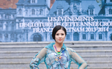Hoa hậu Ngọc Hân sang Pháp trình diễn thời trang thổ cẩm