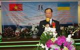 Lễ kỷ niệm 25 năm ngày đoàn công nhân Việt Nam đến làm việc tại nhà máy đóng tàu TP – Kiev.