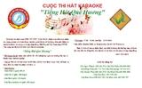 Thông báo: Cuộc thi hát Karaoke
