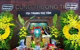LỜI CẢM ƠN của gia đình cụ Trang Thị Tâm
