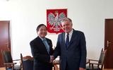 Đại sứ Vũ Đăng Dũng gặp, làm việc với Bộ trưởng Nông nghiệp và Phát triển nông thôn Ba Lan