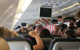 Nguy cơ lây nhiễm coronavirus trên máy bay