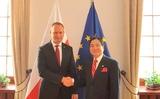 Đại sứ Vũ Đăng Dũng thăm, làm việc với Tỉnh Dolnoslaski và Thành phố Wroclaw, Ba Lan