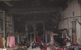 Séc: Cháy chợ Việt tại Plzeň