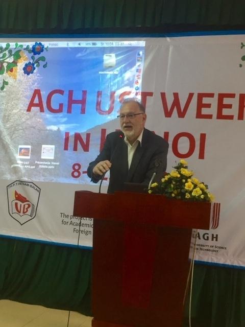 Tuần lễ học viện khoa học và công nghệ AGH - Krakow tại Hà Nội