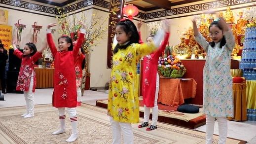 Mừng năm mới Canh Tý, 2020  tại chùa Nhân Hòa, Ba Lan,