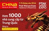 Thông báo Hội chợ Chine Homelife 2016 (từ 7-9/6/2016)