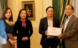 Lời cám ơn của chủ tịch Hội Người Việt Nam tại Ba Lan.