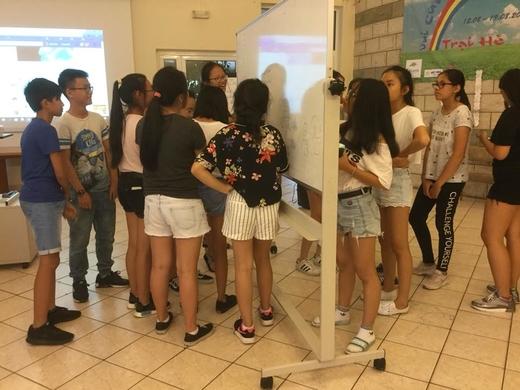 Trại hè Vui cùng Tiếng Việt năm 2018 với chủ đề: Môi trường hôm nay - Cuộc sống ngày mai