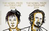 Hai nhà văn Ba Lan và Áo giành giải Nobel Văn học 2018 và 2019.