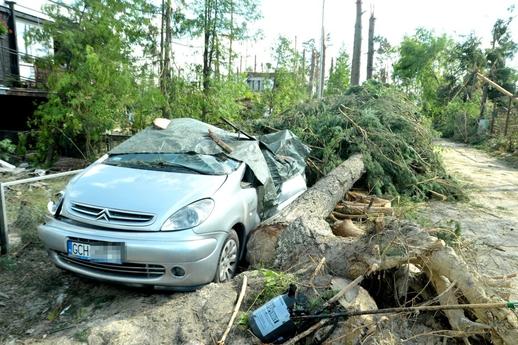 Mưa bão và gió xoáy ở phía Bắc Ba Lan
