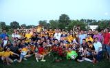 Bế mạc giải bóng đá Cộng đồng hè 2017.