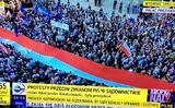 Biểu tình ở Ba Lan mấy ngày gần đây.
