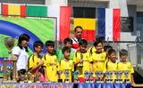 Giải bóng đá CUP C1 thu nhỏ 2017 dành cho trẻ em tại Raszyn.