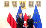 Đại sứ Vũ Đăng Dũng đến chào Chủ tịch Thượng viện Ba Lan, kết thúc nhiệm kỳ về nước