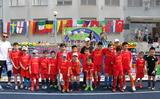 Thông báo của đội bóng đá thiếu nhi Việt Nam tại Ba Lan.