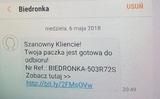 Nếu bạn nhận được SMS để nhận bưu phẩm Biedronka hay Lidl thì chớ có mở, đó là bọn lừa đảo đấy!