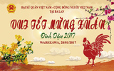 Thông báo (số 2) chương trình Vui Tết Mừng Xuân Đinh Dậu tại Ba Lan