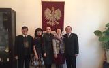 Hội hữu nghị Việt Nam - Ba Lan thăm Đại sứ Ba Lan nhân dip lễ Giáng Sinh và Năm Mới 2018