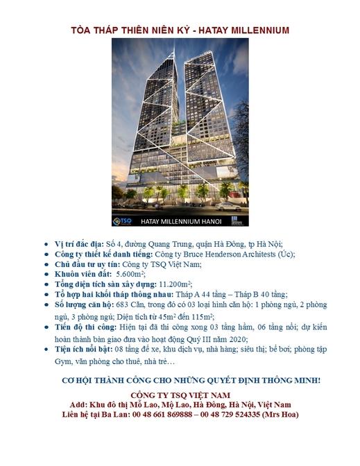 Tòa tháp Thiên niên kỷ - HATAY MILLENNIUM